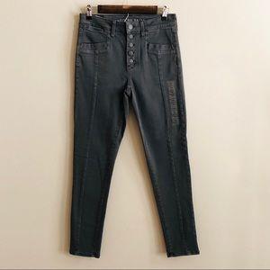 Gray American Eagle Skinny Jeans 10 NWT